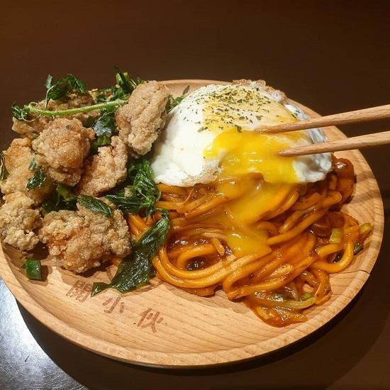 開小伙 宵夜 炸雞 鐵板麵|寧夏夜市美食,台北夜市,夜市美食,台北美食,夜市小吃