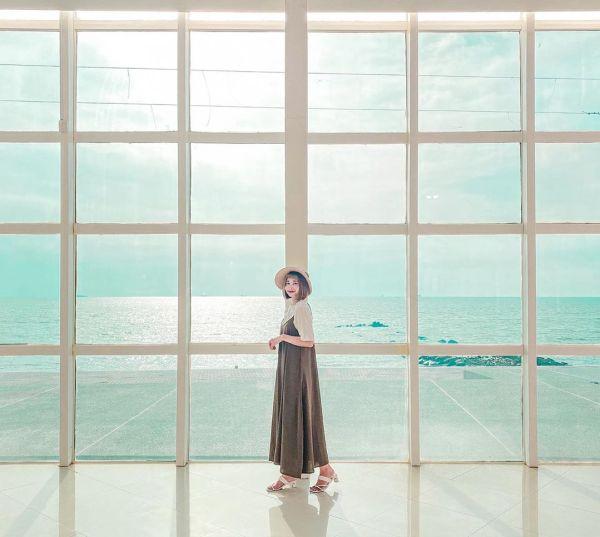 黃金海岸方舟|台南黃金海岸|黃金海岸|白色方舟|玻璃屋