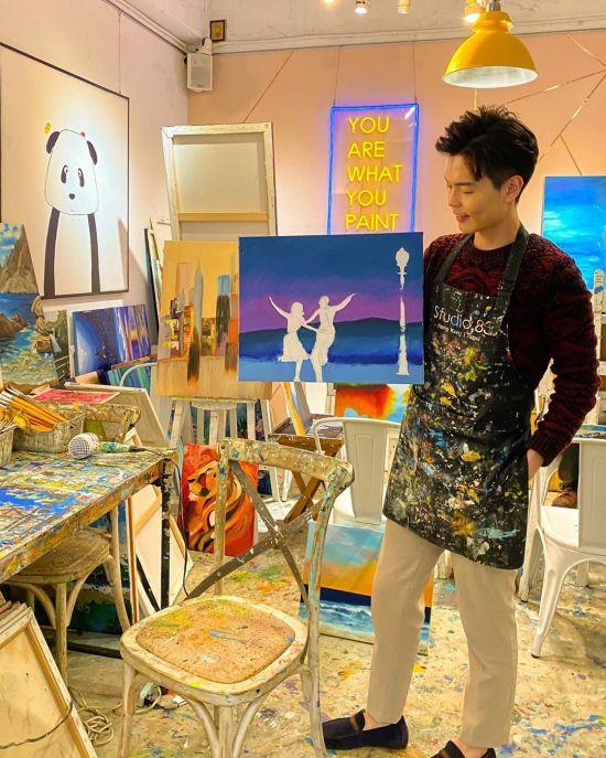 Studio 83 油畫 手作坊 畫畫