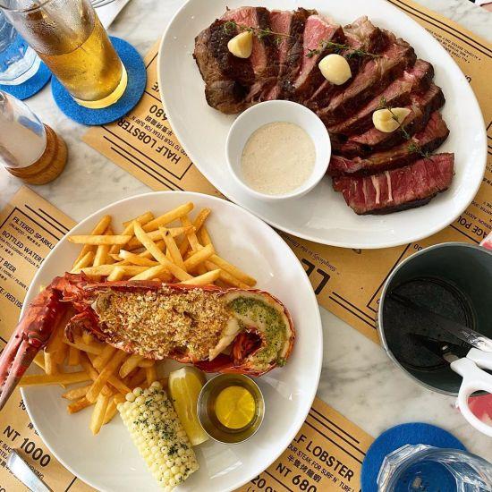 台北美食|台北餐廳|台北牛排推薦|台北龍蝦餐廳|台北美式餐廳|聖誕餐廳|跨年餐廳|Le Blanc