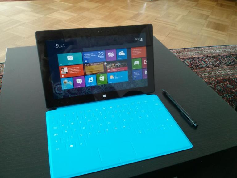 Surface Pro und Touch Cover