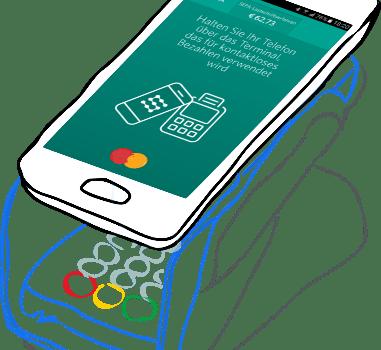 Kontakt- und kartenlos zahlen mit Android-Smartphones und SEQR