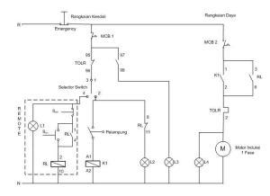 Rangkaian Water Level Control (WLC) |  ImRoée