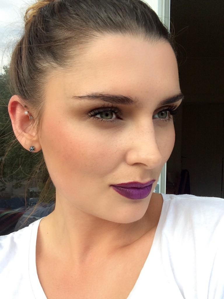 mac heroine, mac lipstick, mac læbestift, mac makeup, im salli, salli villefrance, salli villefrance model