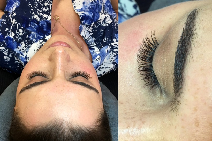 eyelash extensions, vippe extensions