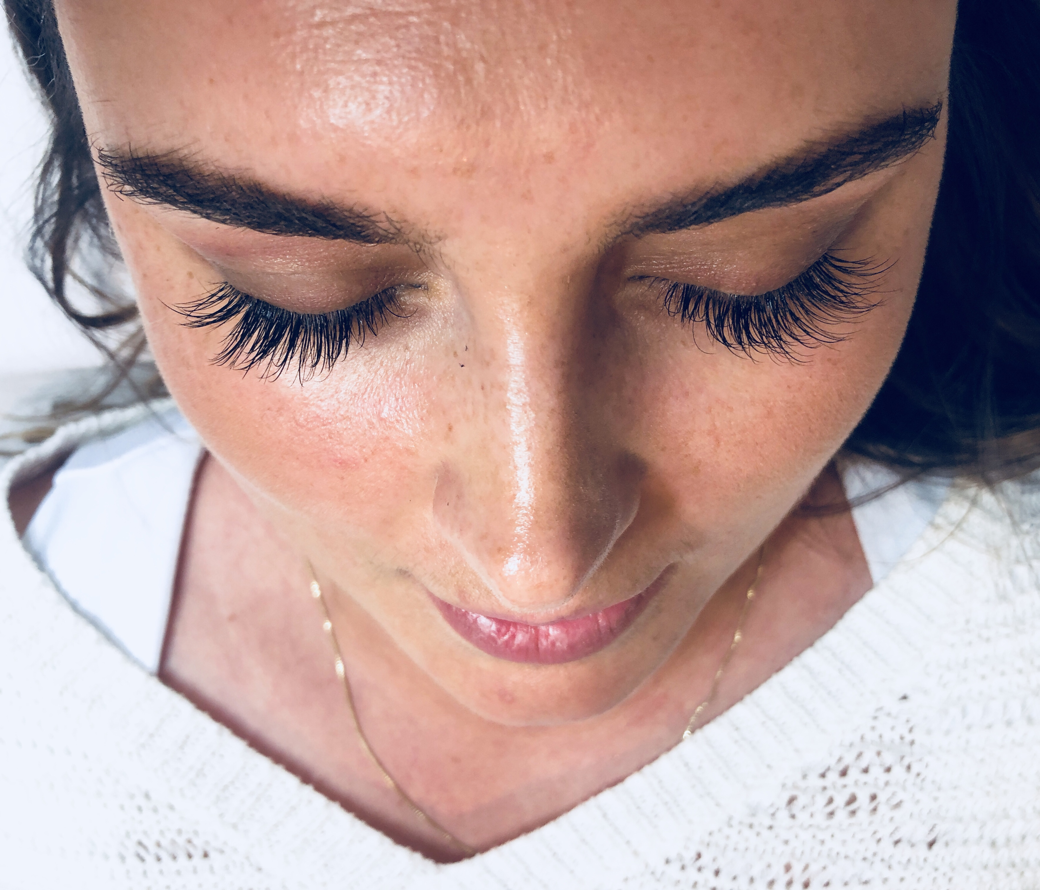 bryllup, eyelash extensions, kunstige øjenvipper