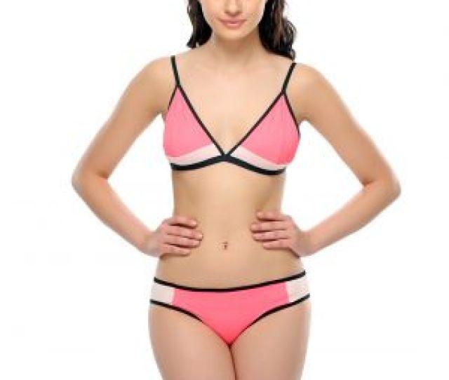 Buy Clovia Hot Pink Sxy Bikini Set Bp0269p22 Online