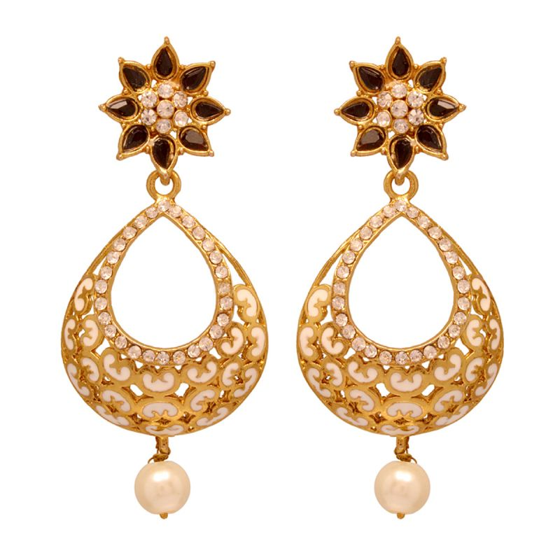 Buy Vendee Beads Fashion Copper Earrings (8072 A) Price and Features.Shop  Vendee Beads Fashion Copper Earrings (8072 A) Online.