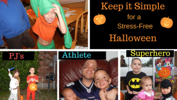 Sensory friendly costumes
