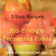 Kid Friendly Fermented Food Recipes