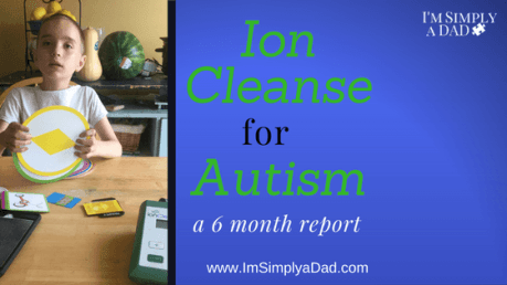 Ion Cleanse for Detox: Over the past 6 months using the ion cleanse for detox, we have had some rough times, but we are seeing some incredible progress as well.