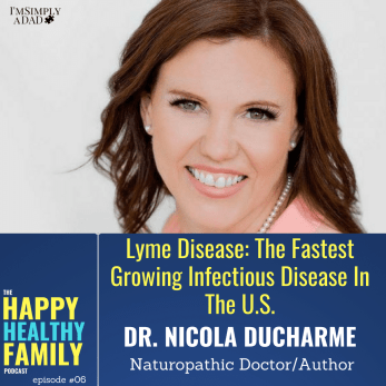 "Lyme disease mimics over 300 diseases which is where it gets the nickname ""The Great Imitator"". If you a family member have chronic health issues and aren't getting any answers, it may just be Lyme Disease. We discuss the symptoms, diet, testing, and treatment of Lyme disease. We also discuss why the average parent should care about Lyme, acute vs.chronic Lyme, and we touch on prevention as well."