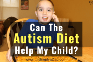 Can the autism diet help my child? Yes, I absolutely believe diet and nutrition is one of the best natural treatments that can help kids with ASD. But, I review both sides of this discussion to help parents decide if a gluten-free, dairy-free (casein free) diet is right for their families. #autismdiet #autism #gfcf #gfcfsf