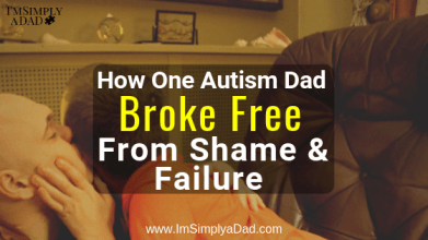 Unable to cope with the trials of autism, the father/son bond was pulling away. I felt like a failure as an autism Dad & I knew I had to find a way to reconnect with my son. Luckily, I found the inspiration I needed to snap me out of my depression and heal my relationship with my son with #autism. #autismparent #autismsupport