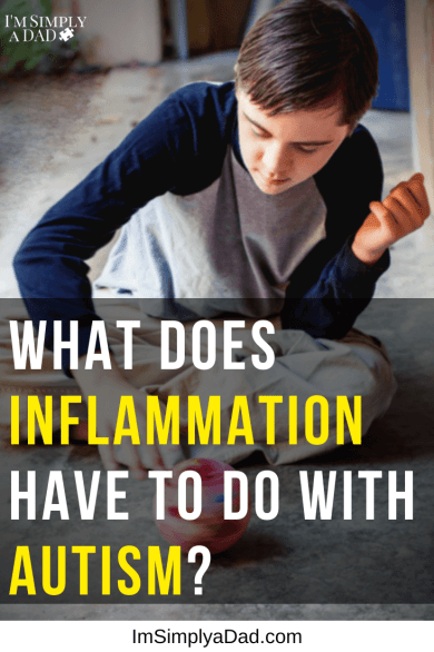 Image boy spinning a ball, text: What does inflammation have to do with autism (and what to do about it)