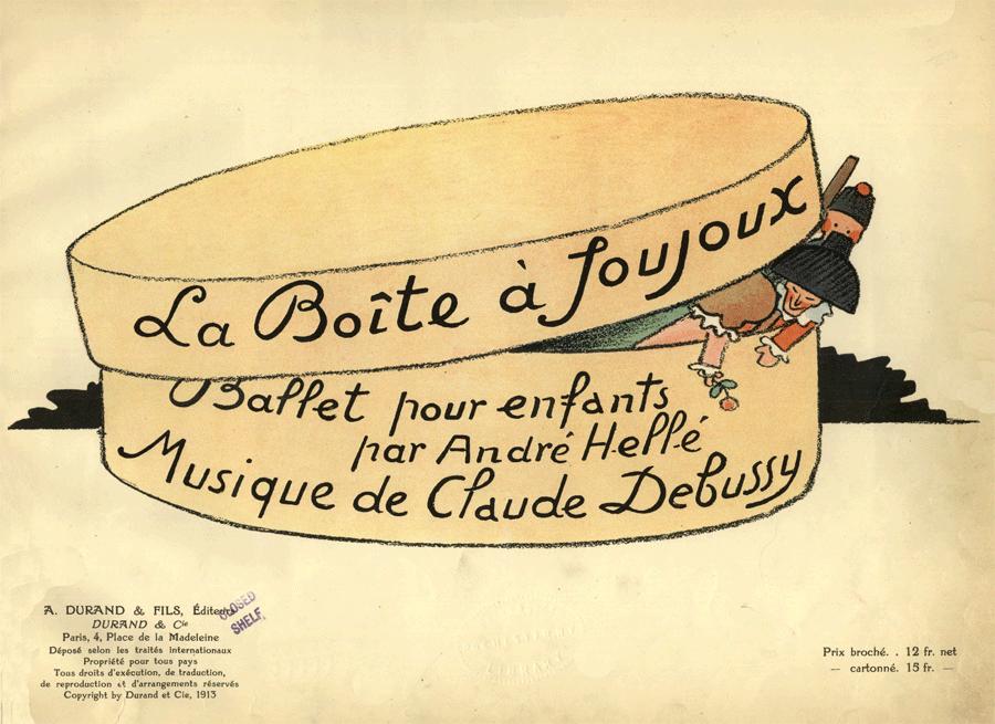 Debussy, La Boîte à joujoux
