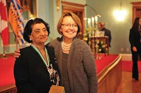 Mrs Sethi with Shirly Bond