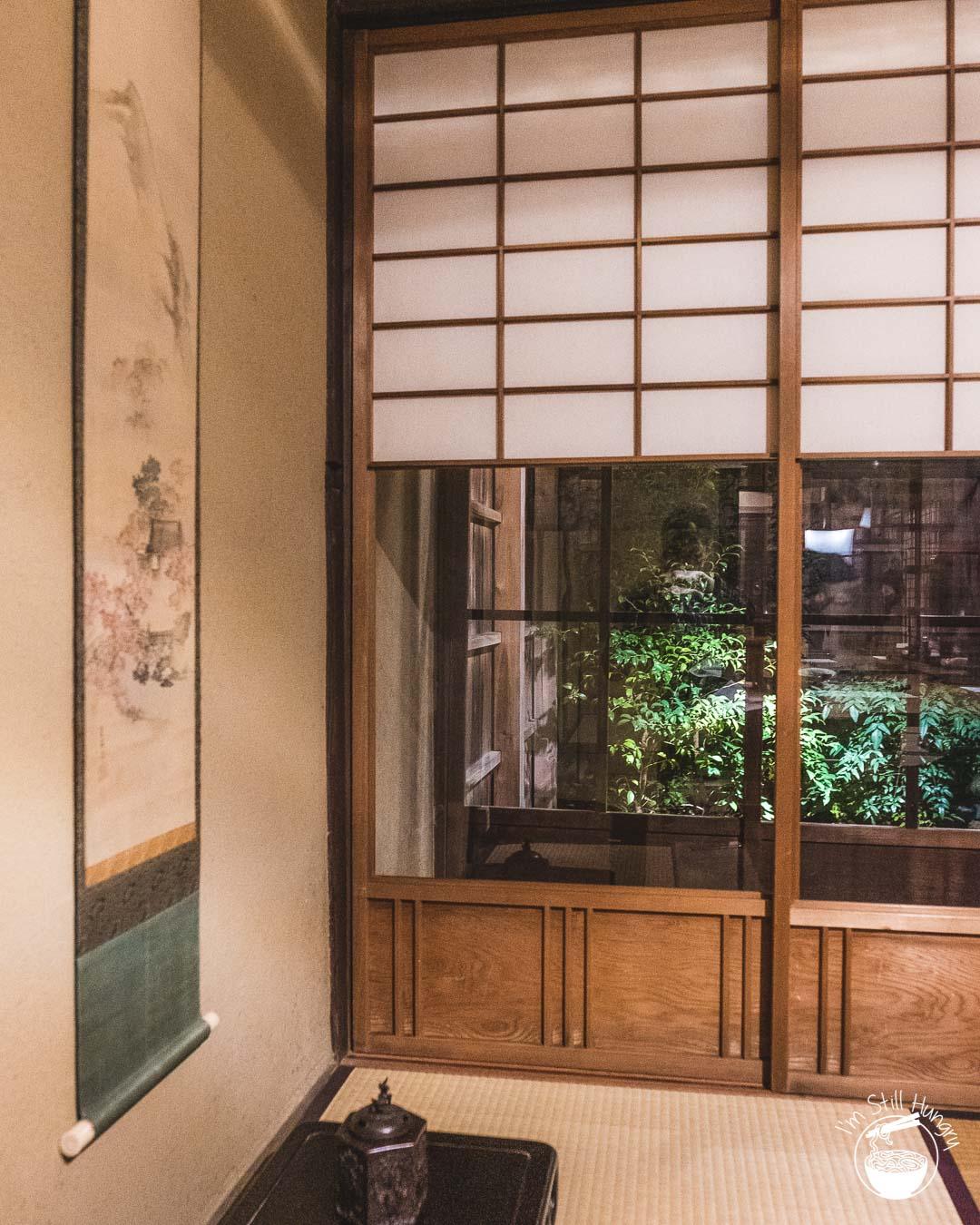 Kyoto - Onryōri Hiwatashi