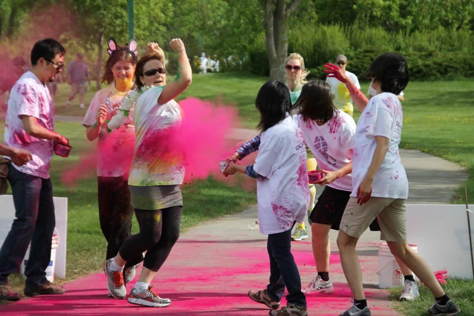Beads of Courage Colour Festival Fun Run (6/6)