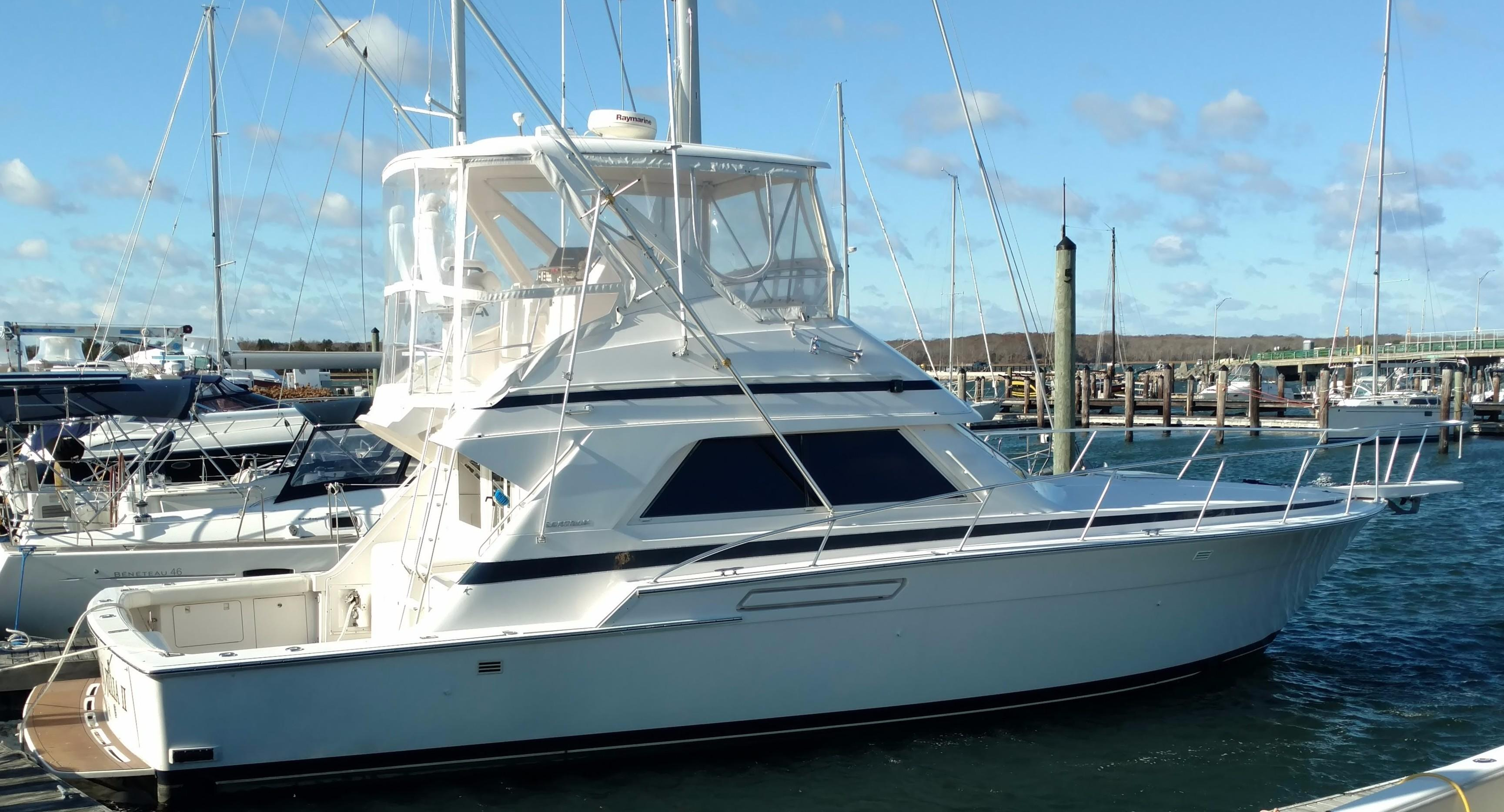 1995 Bertram Convertible Yacht For Sale In South Dartmouth MA