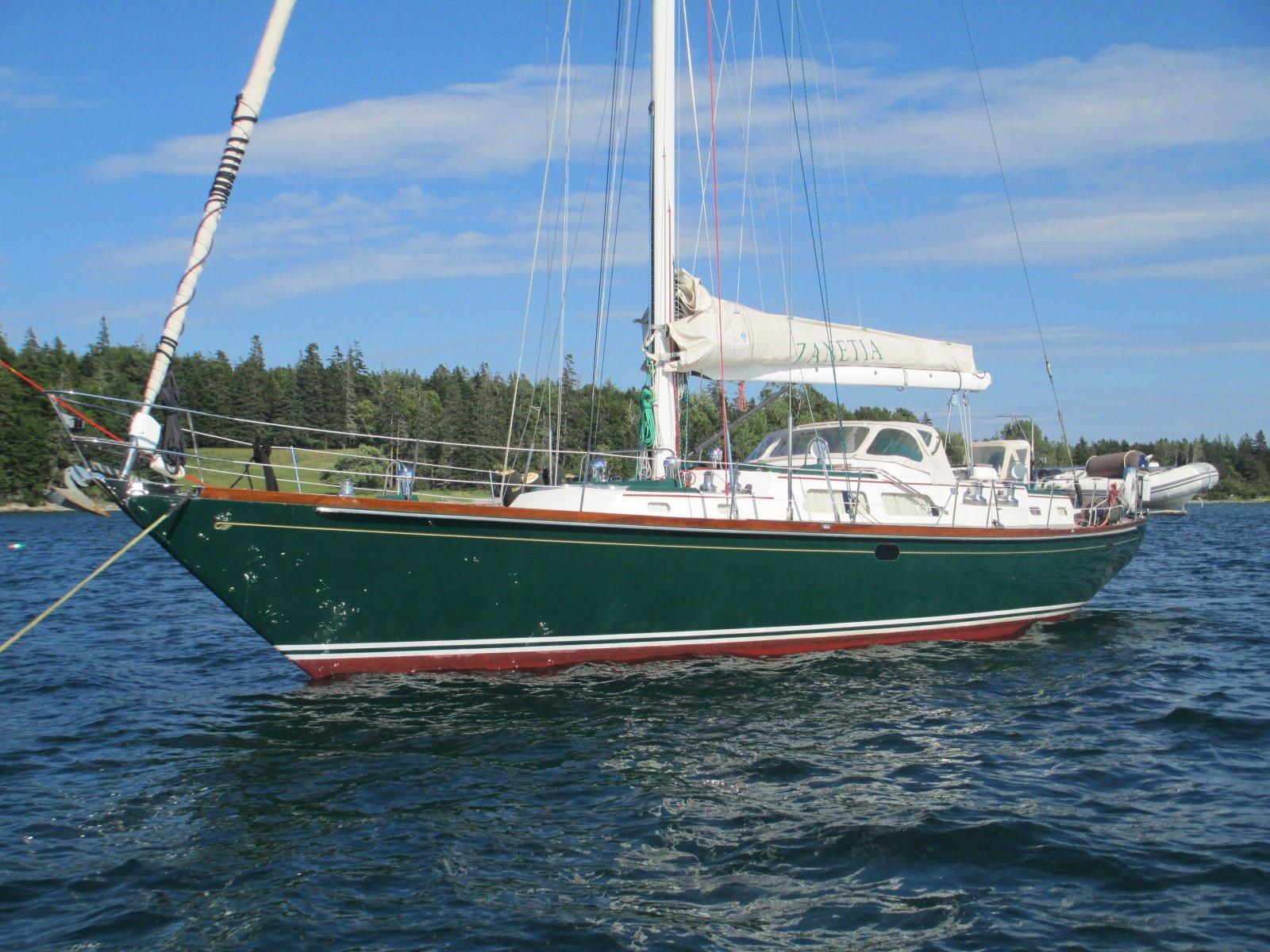 59 Hinckley 2001 ZANETIA For Sale In Southwest Harbor
