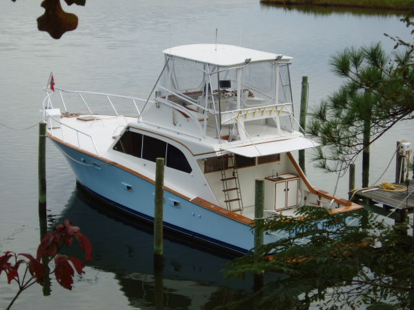 1976 Post Marine Sportfish For Sale