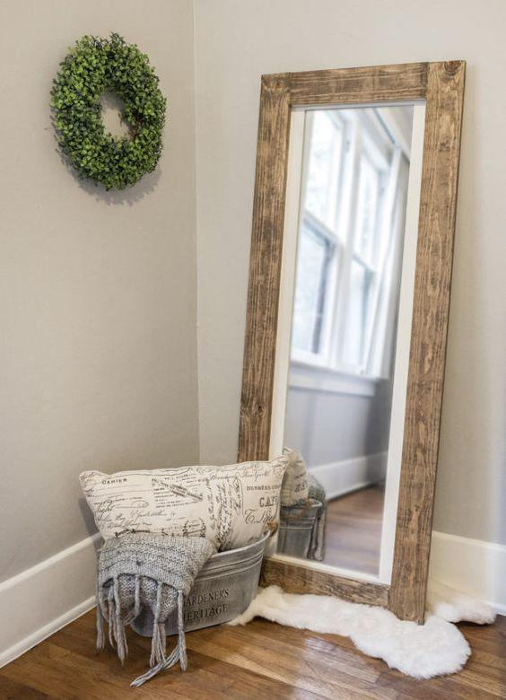 vanity mirror wall mirror bedroom