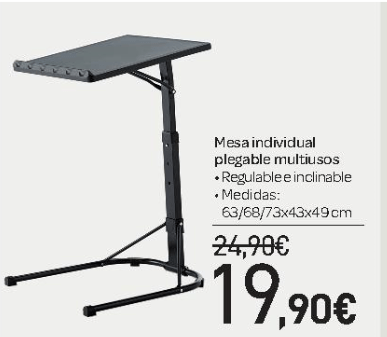 Ofertas de muebles en carrefour imuebles for Mesa plegable carrefour