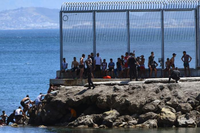 6,000 Migrants From Morocco Have Reached Spain's Ceuta