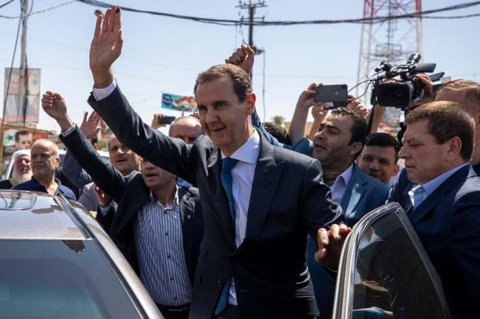 Bashar-al-Assad Voted Syria's President Again