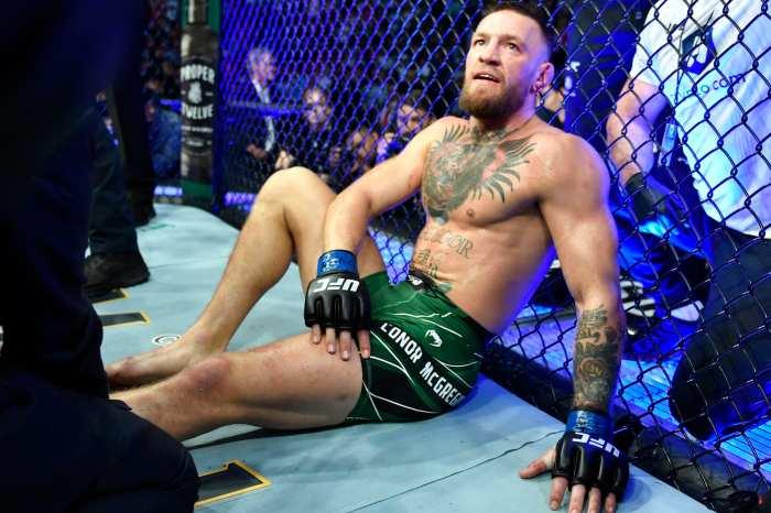 Coner Takes The L & Brakes His Leg