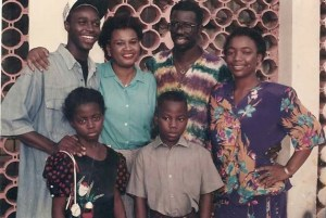 Actor Femi Adebayo shares throwback pics of himself as a teenager acting his first movie
