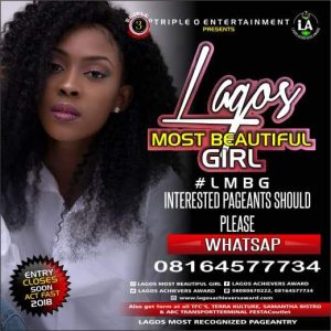Lagos Most Beautiful Girl 2018
