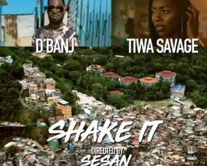 D'banj says his new video, Shake It ft Tiwa Savage is bread, stew plus ewa agoyin (video)