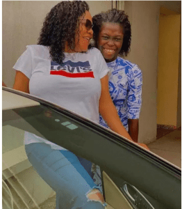 Toyin Abraham lashes out at those insulting her stepdaughter