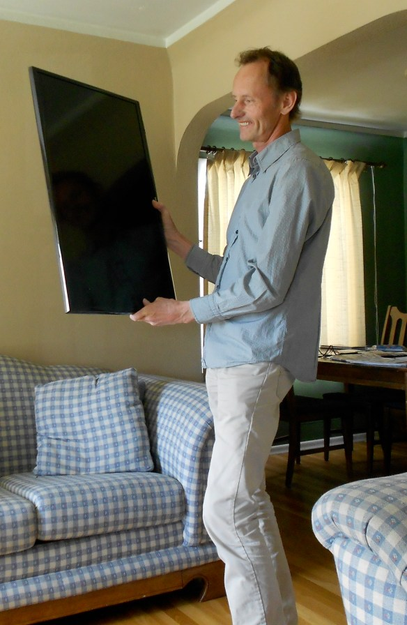 My new big screen mobile tablet will bring internet images to life!