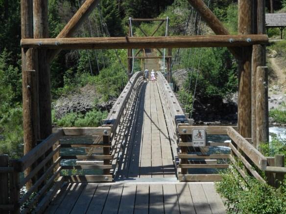 Rivr park bridge entrance