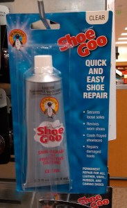 shoe goo at store copy