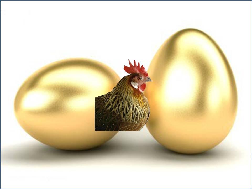 ¿Podemos involucionar y estrangular la gallina de los huevos de oro?