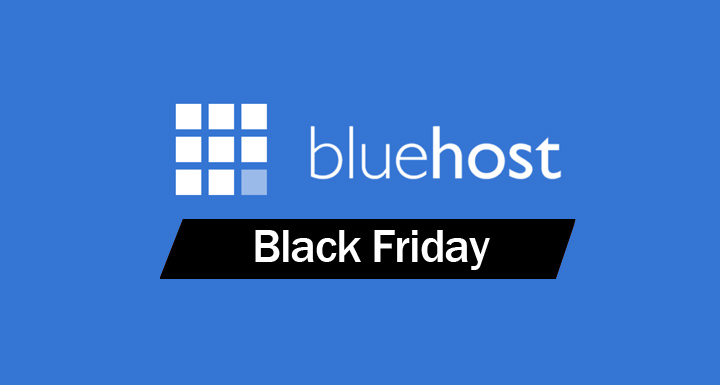 bluehost blackfriday discount