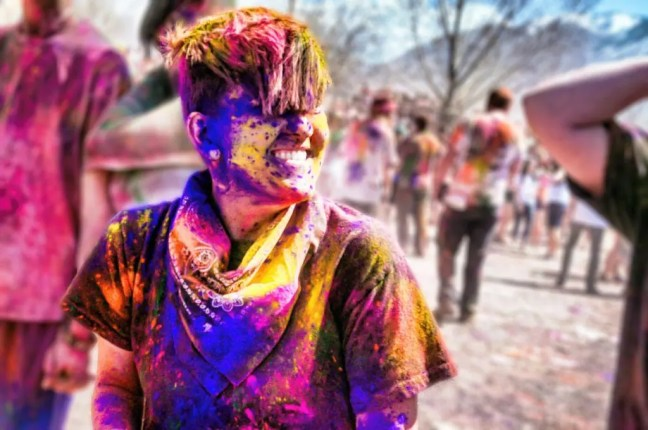 How I got high on Holi-the festival of vibrant colors - By Voyager