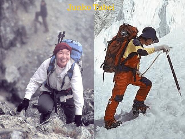 Adventurous women