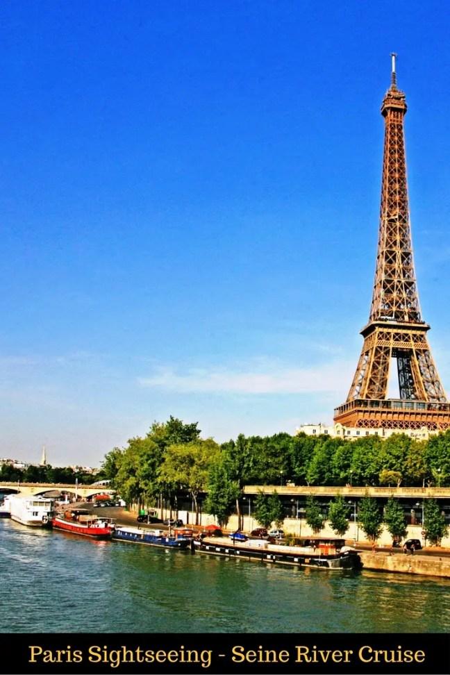 Paris Sightseeing - Seine River Cruise