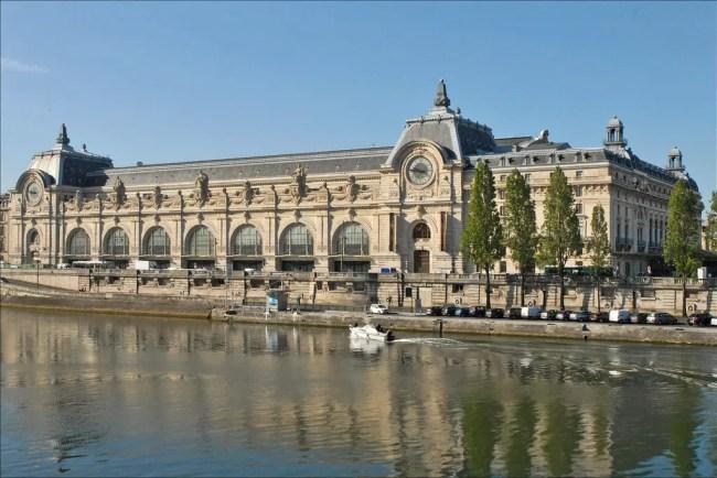 Le musée d'Orsay Seine