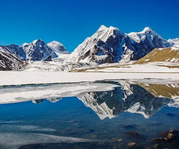 Sikkim Gurudongmar Lake Indian States