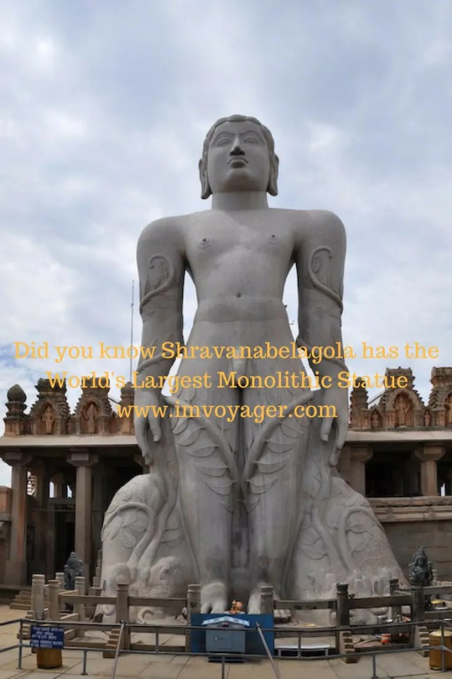 Did you know Shravanabelagola has the World's Largest Monolithic Statue