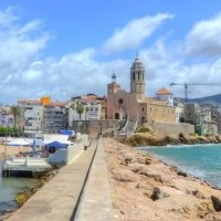 A Day trip from Barcelona to Sitges in Spain