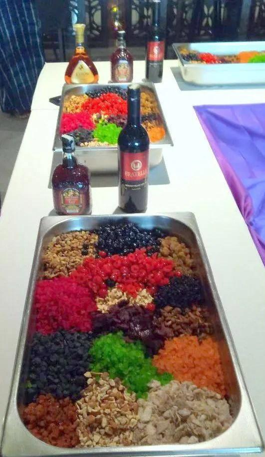 Cake Mixing Ceremony at Plaza Premium Lounge Bengaluru