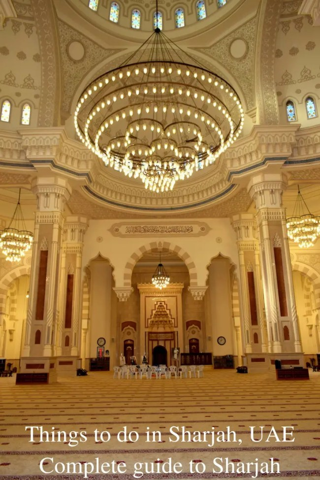 Sharjah, UAE. A Complete guide to Sharjah