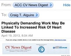 Physically Demanding work